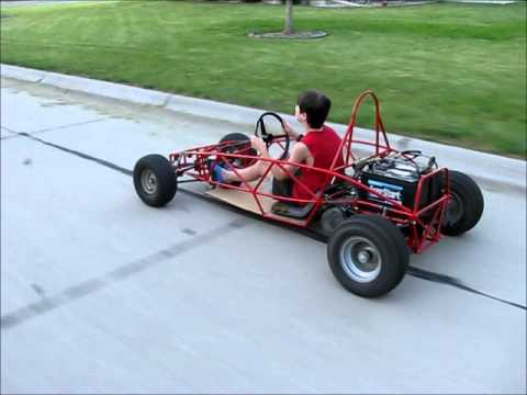 Ariel Atom Assembly and Short Drive Electric Go Kart