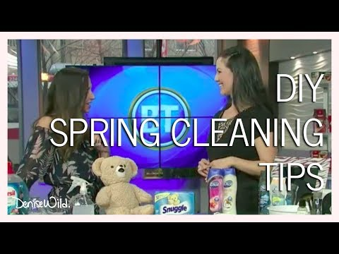 DIY Hard Water Stain Remover & Sink Cleaner & Other Spring Cleaning Tips (Breakfast Television)