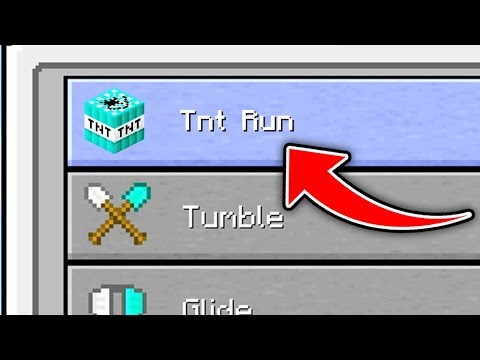 Minecraft : How To Play Tnt Run Minigame (Ps3/Xbox360/PS4/XboxOne/WiiU)