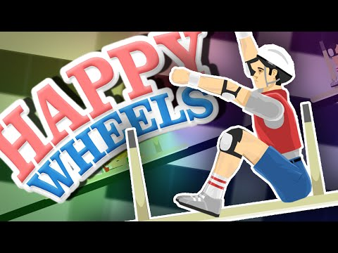 THE GREAT TABLE RACE!! | Happy Wheels