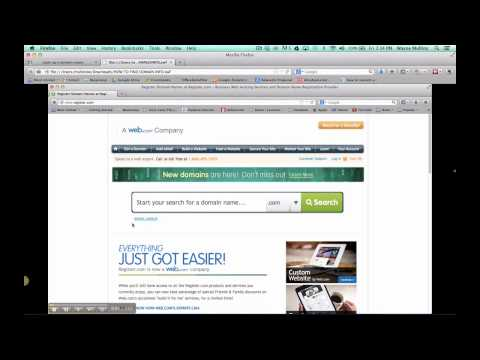How to find domain name owner
