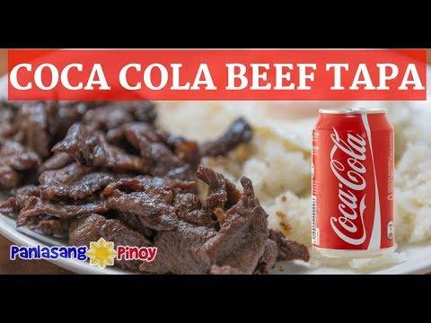 Coca Cola Beef Tapa