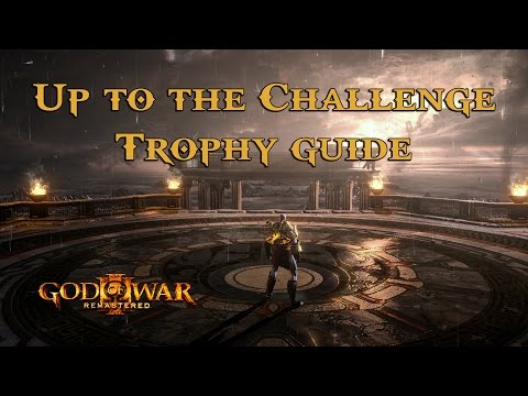 God of War III Remastered - Up to the Challenge Trophy Guide [Ps4] [1080p] [60FPS]