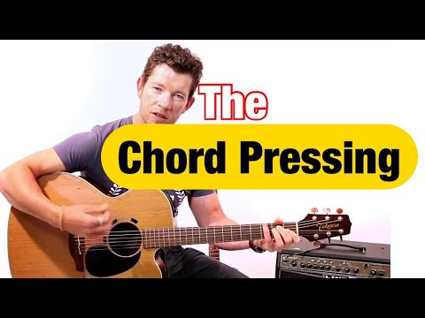 How to Change Chords Quickly on Guitar using the 'Pressing Technique' - with Mark McKenzie