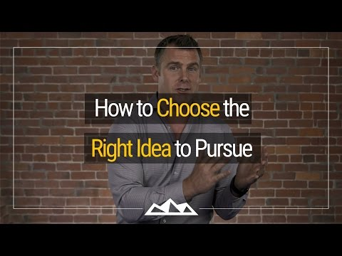 How To Pick The Right Idea For Your Startup | Dan Martell