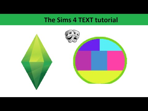 The Sims 4 Text Tutorial: Positive Emotions