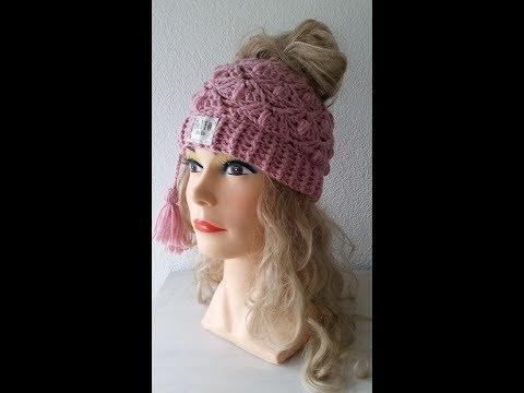 Bella Rose Hat/Messy Bun