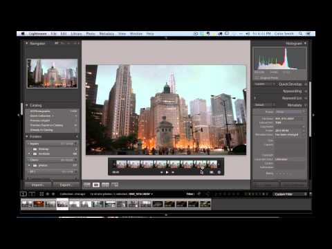 How to make Video slideshows in Lightroom tutorial