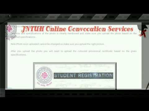 How to apply for jntu post convocation certificate
