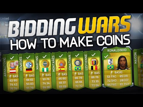 FIFA 15 Ultimate Team Trading | How To Win Bidding Wars! (how to make coins)