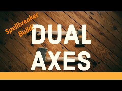 Dual Axes Spellbreaker! GW2 Warrior Build