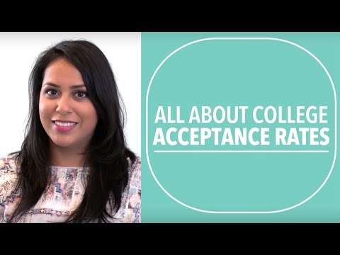 College Acceptance Rates