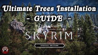 TES V - Skyrim Mods: Enhanced Vanilla Trees | Daikhlo