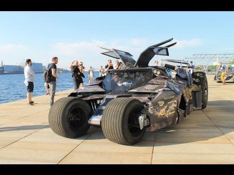 Gumball 3000 Batmobile Tumbler