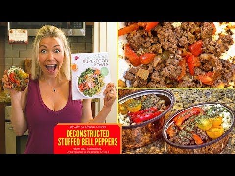 Deconstructed Stuffed Bell Peppers from the cookbook: Nourishing Superfood Bowls