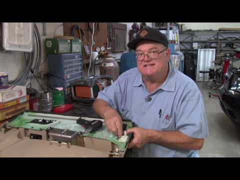 How to repair factory fasteners on the inside of a door panel. #103