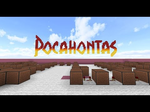 Pocahontas - Just Around The Riverbend [Minecraft Noteblocks]