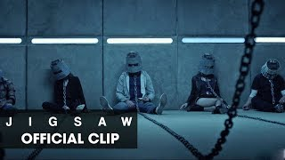 Jigsaw 2017 Movie Official Clip bucket Heads