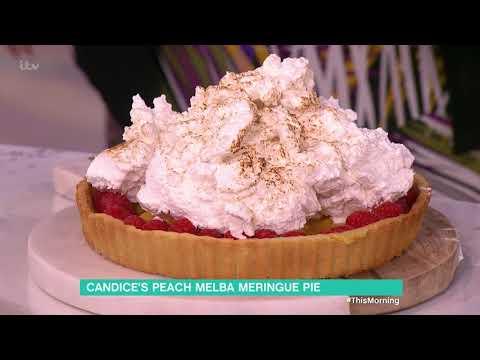 Candice Brown's Peach Melba Meringue Pie - Part 2 | This Morning