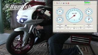 Buell 1125cr Torque Hammer Exhaust and Race ECM install