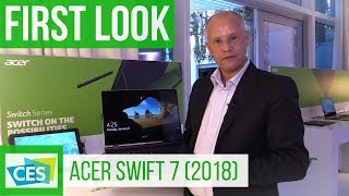 Acer Swift 7 2018 First Look (english) #CES2018