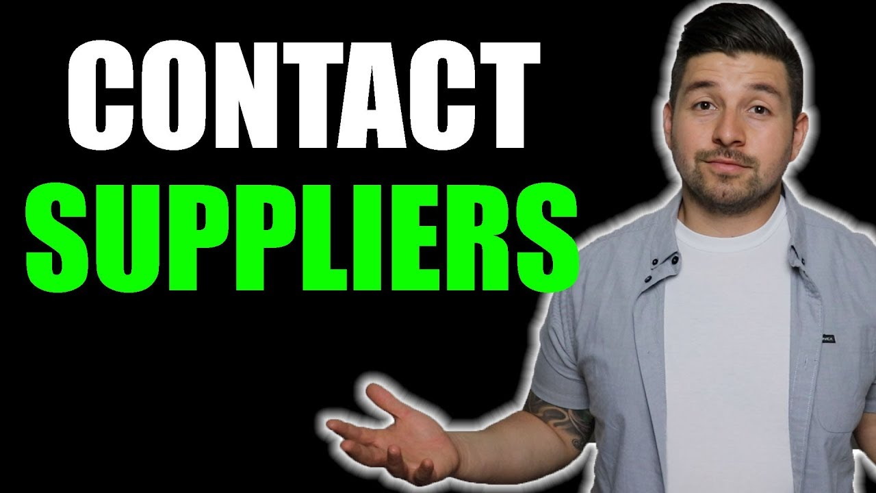 How To Contact WHOLESALE SUPPLIERS | Contact Template