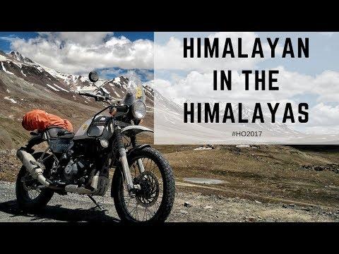 A Journey through the Himalayas | Royal Enfield Himalayan Odyssey 2017 | Ladakh | Spiti
