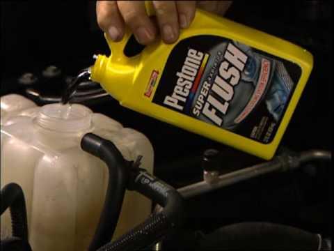 Prestone Flush & Fill How To