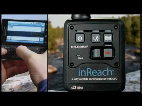 InReach two-way satellite communicator by DeLorme