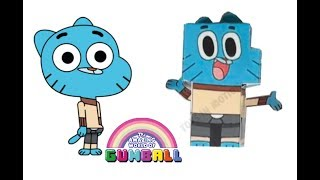 Gumball Characters as PaperCrafts