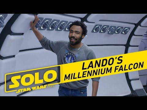 Solo: A Star Wars Story | Tour The Millennium Falcon with Donald Glover