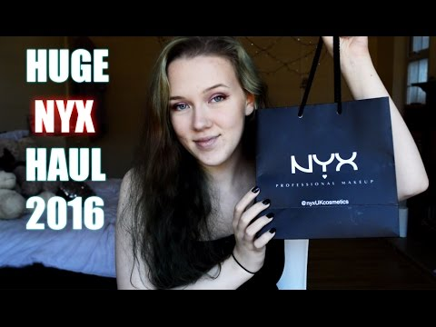 Nyx Haul - Review + Swatches