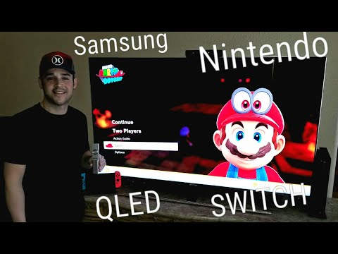Samsung Q7F Qled 4k Tv & Nintendo Switch Calibrated Gaming Settings. 2018 TIME FOR A SWITCH🤔