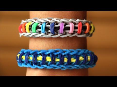 Rainbow Loom English - UPSY DAISY - Loom Bands, easy, how to, DIY