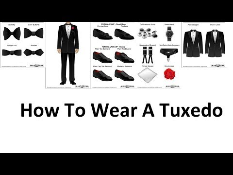 How To Wear A Tuxedo   A Man's Guide To Wearing Black Tie   Tuxedos For Men Video