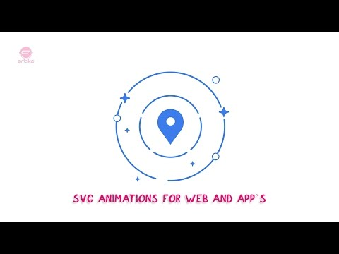 SVG Animations for web and app`s (demo reel):
