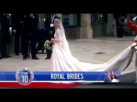 A Look Back At The Most Memorable Royal Wedding Gowns | Studio 10