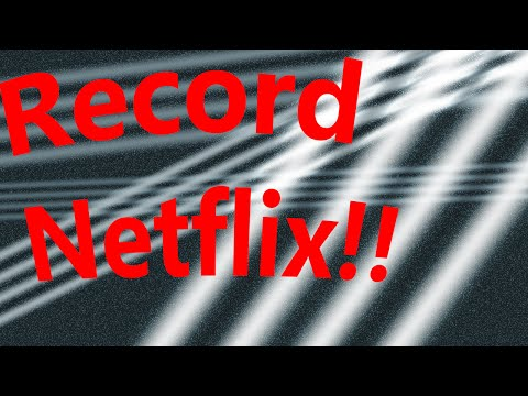 PlayOn - How To Record Netflix Shows Onto Your Computer (Legally!)