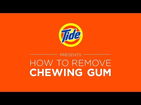 Tide Liquid Detergent | Laundry Tips: How to Remove Chewing Gum