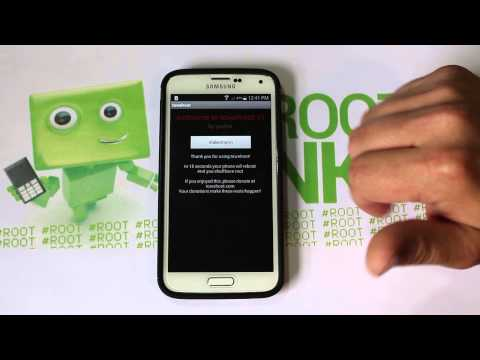 How to Root Verizon or Att Samsung Galaxy S5, S4, Note 3 on Kitkat