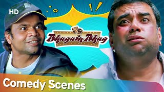 Bhagam Bhag | Best of Hindi Bollywood Comedy Scenes | Akshay Kumar - Paresh Rawal - Rajpal Yadav