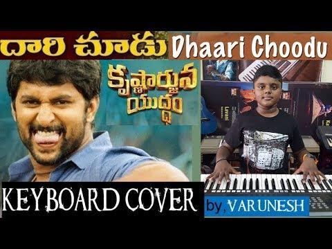 daari choodu from krishnarjuna yuddham keyboard cover by varunesh
