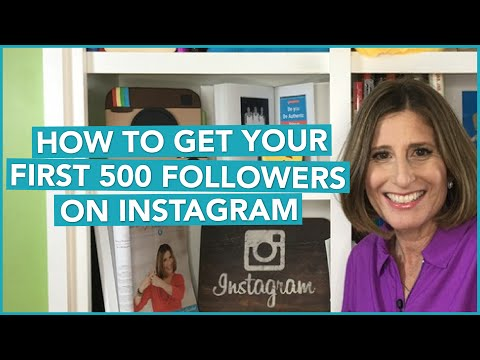 How to Get Your First 500 Followers On Instagram