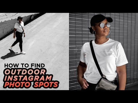 Find PERFECT Locations For Instagram Aesthetic Photos | Outdoor Portrait Tips | DevanOnTech