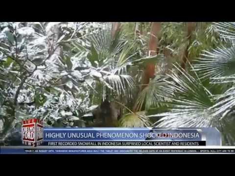 Indonesi Dilanda Salji?