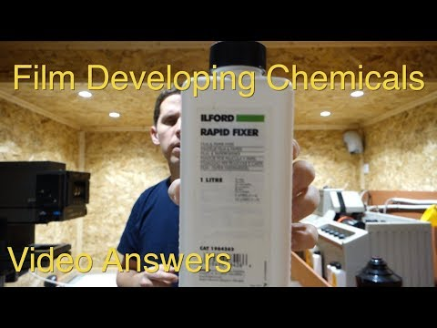 Film Developing Chemicals: Video Answers