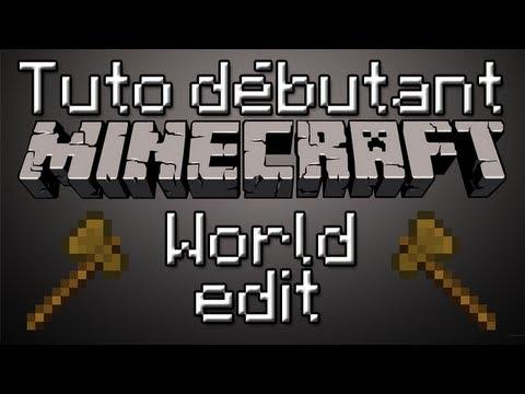 Minecraft | World Edit Tuto débutant [FR]