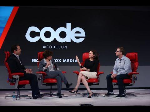 Facebook execs Sheryl Sandberg and Mike Schroepfer | Full interview | Code 2018