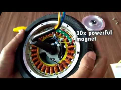 what inside Hoverboard wheel motor