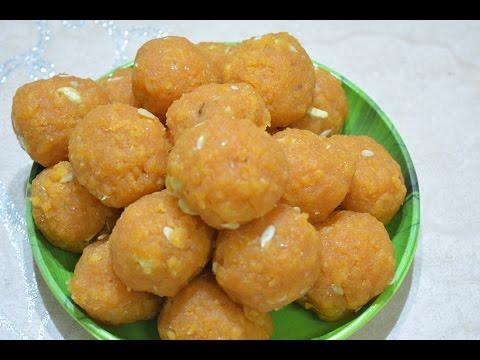 How to Make boondhi Ladoo Recipe | Ladoo preparation | Diwali Special